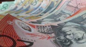 all the Australian dollar bills
