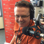 Spencer Howson in the ABC studios.