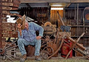 A man and his shed