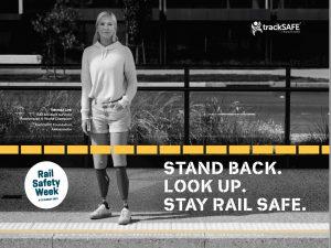 Vanessa Low Rail Safety Week Ambassador